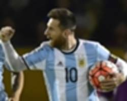 Argentina's 2018 World Cup squad: Who joins Aguero and Messi in Russia?