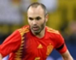 spain's 2018 world cup squad: who joins ramos & iniesta in 23-man list?