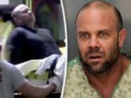 man who stormed trump golf resort booked into florida jail in his hospital gown