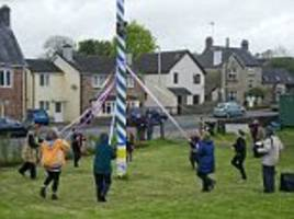 Gloucestershire Village axes tradition of dancing round the maypole