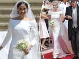 Meghan Markle's Givenchy gown was inspired by European royal brides