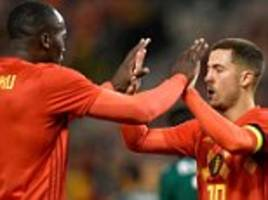 belgium world cup squad announced as nainggolan misses out