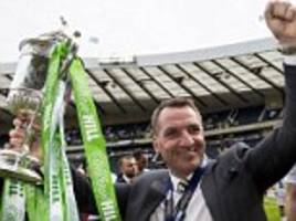 brendan rodgers showed how he has taken celtic to the next level
