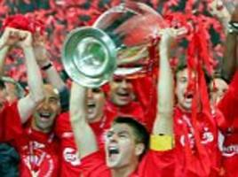 steven gerrard urges liverpool to seize the moment ahead of champions league final