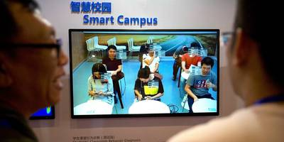 A school in China is monitoring students with facial recognition technology that scans the classroom every 30 seconds