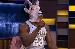 Shannon Sharpe's reaction to LeBron's Cavs Game 3 blowout win over the Celtics