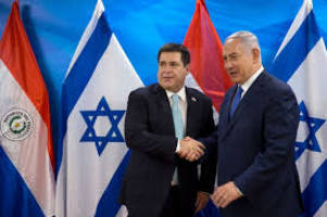 paraguayan president horacio cartes inaugurates country's israel embassy in jerusalem