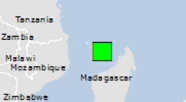 Green earthquake alert (Magnitude 5.5M, Depth:10km) in Mayotte 21/05/2018 00:47 UTC, 210000 people within 100km.