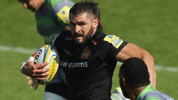 don armand: exeter flanker calls for focus on england squad rather than his omission