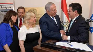 paraguay is now the third country to move its embassy to jerusalem