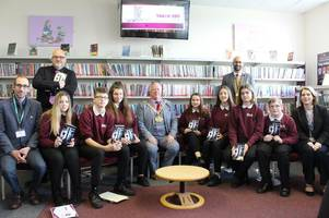burton pupils see their new book silence in the woods published - here's how you can get a copy