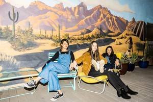 the staves join first aid kit on tour