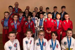 Hamilton tae kwon do students take medals haul from Scottish and Irish events