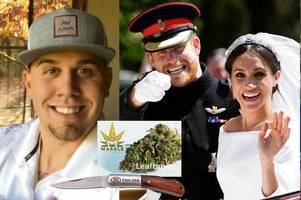 meghan markle's dope growing nephew took knife to london club as he celebrated royal wedding