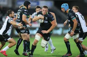 cardiff blues and dragons ready to fight it out for ospreys player