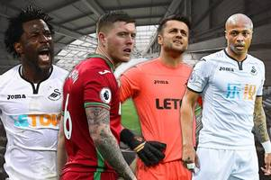 how much every swansea city player is now supposedly worth after relegation from the premier league