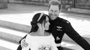 Royal Wedding 2018: Duke and Duchess of Sussex release wedding photos