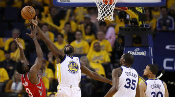 warriors' defense and stephen curry's hot shooting overwhelm rockets in game 3 blowout