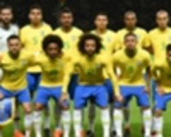 champions - brazil's world cup squad packed full of league winners