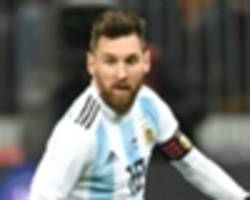 messi joins argentina's world cup training camp