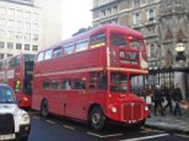 Britain's slowest bus revealed: 15 from Tower Hill to Trafalgar Square