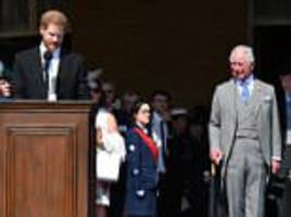 Prince Harry praises his 'selfless' father Charles in birthday speech
