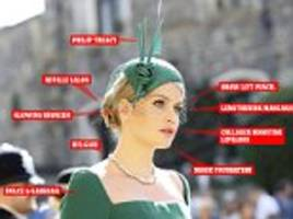 the eighteen different products used to get kitty spencer royal wedding ready
