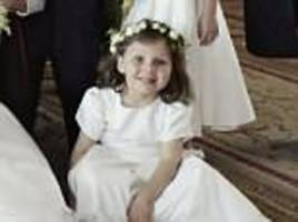 prince harry's god-daughter florence van cutsem wins hearts with smile