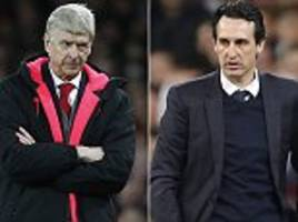 How will Unai Emery differ from Arsene Wenger at Arsenal?