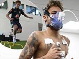 neymar undergoes brazil medical to test fitness ahead of world cup