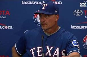 jeff banister on rangers offense in 10-5 loss to new york