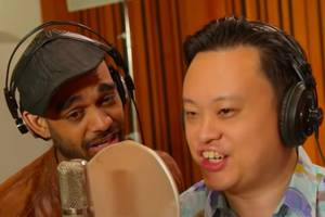 william hung, sanjaya and other 'american idol' alums parody 'we are the world' (video)