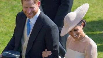 royal newlyweds' first official event - featuring a bee