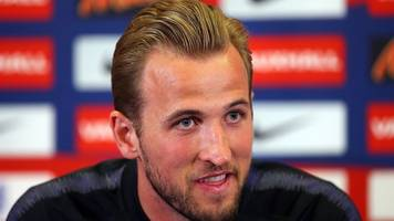 england captain harry kane on world cup hopes: 'it's not an excuse that we're young'