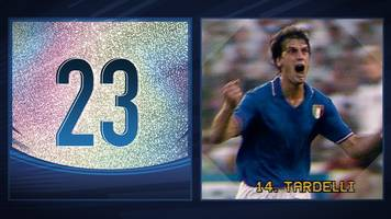 world cup countdown: tardelli's screaming celebration - 1982