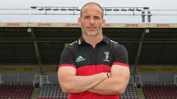 paul gustard: new harlequins head of rugby has 'a lot to thank eddie jones for'