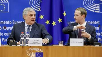 Zuckerberg Apologizes To European Lawmakers Over Facebook Scandals