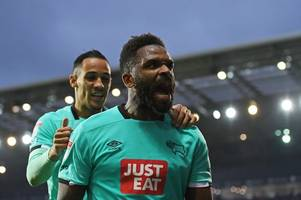 departing derby county striker admits 'shock' at gary rowett's impending stoke city move