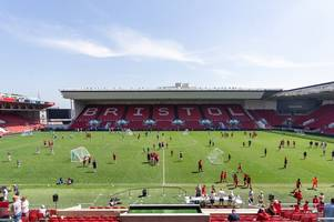 another chance for bristol dreams to come true as the annual woodcock shield game is contested at ashton gate