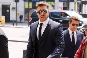 duncan james from blue performed at dale winton's star-studded funeral
