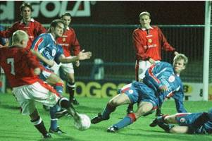 neil mustoe on living the dream at manchester united, winning a title at cambridge united, playing under gary johnson at yeovil town and his long association with gloucester city