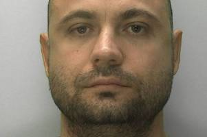 key figure in gloucestershire's £750k albanian drug ring, which saw jeremy kyle join police raids, is jailed