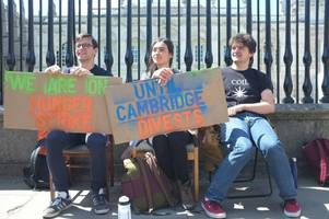 Cambridge students stand down after 5-day hunger strike