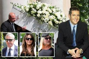dale winton gets star-studded send off as supermarket sweep host laid to rest on 63rd birthday