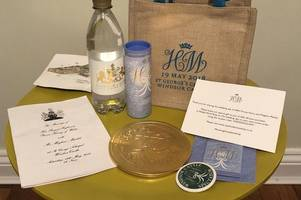 Official Royal Wedding goody bags being sold for thousands on eBay