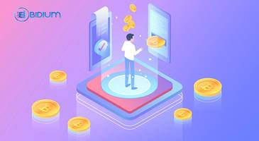 bidium: the most promising project of 2018 partnered with pecunio!