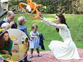 kate middleton reveals she cherishes playing with prince george and princess charlotte