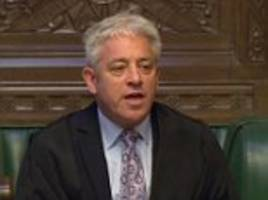 speaker john bercow is reported to police over bullying allegations