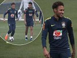 neymar recovering from injury 'faster than expected'