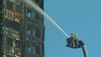 grenfell tower fire: pm on flammable cladding ban